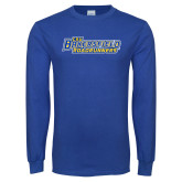 Royal Long Sleeve T Shirt-CSU Bakersfield Roadrunners