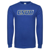 Royal Long Sleeve T Shirt-CSUB