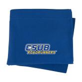 Royal Sweatshirt Blanket-CSUB Roadrunners