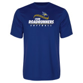 Syntrel Performance Royal Tee-CSUB Roadrunners Softball Seam