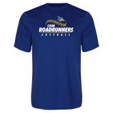 Performance Royal Tee-CSUB Roadrunners Softball Seam