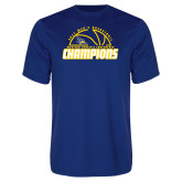 Syntrel Performance Royal Tee-2017 Western Athletic Conference Champions - Mens Basketball Half Ball