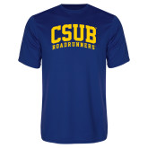 Performance Royal Tee-Arched CSUB Roadrunners