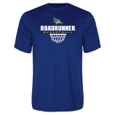 Syntrel Performance Royal Tee-Roadrunner Basketball Net Icon