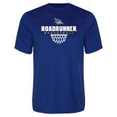 Performance Royal Tee-Roadrunner Basketball Net Icon