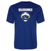Syntrel Performance Royal Tee-Roadrunner Wrestling w/ Headgear
