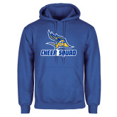Royal Fleece Hoodie-Cheer Squad