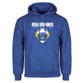 Royal Fleece Hoodie-Roadrunner Wrestling w/ Headgear