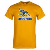 Gold T Shirt-Basketball