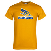 Gold T Shirt-Cheer Squad