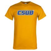 Gold T Shirt-CSUB