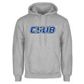 Grey Fleece Hoodie-CSUB