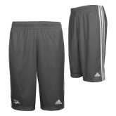 Adidas Climalite Charcoal Practice Short-Primary Logo
