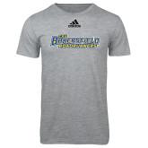 Adidas Sport Grey Logo T Shirt-CSU Bakersfield Roadrunners