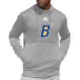Adidas Grey Team Issue Hoodie-B