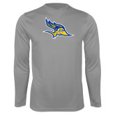 Syntrel Performance Steel Longsleeve Shirt-Primary Logo