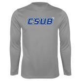 Performance Steel Longsleeve Shirt-CSUB