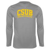 Performance Steel Longsleeve Shirt-Arched CSUB Roadrunners