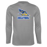 Performance Steel Longsleeve Shirt-Volleyball