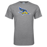 Grey T Shirt-Primary Logo