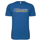 Next Level SoftStyle Royal T Shirt-CSU Bakersfield Roadrunners