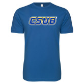 Next Level SoftStyle Royal T Shirt-CSUB