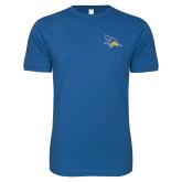 Next Level SoftStyle Royal T Shirt-Primary Logo