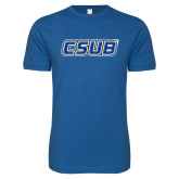 Next Level SoftStyle Royal T Shirt-CSUB