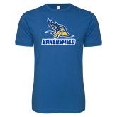 Next Level SoftStyle Royal T Shirt-Roadrunner Head Bakersfield