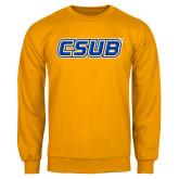 Gold Fleece Crew-CSUB