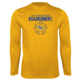 Syntrel Performance Gold Longsleeve Shirt-Roadrunners Soccer Outlines