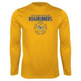 Performance Gold Longsleeve Shirt-Roadrunners Soccer Outlines