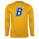 Performance Gold Longsleeve Shirt-B
