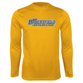 Syntrel Performance Gold Longsleeve Shirt-CSU Bakersfield Roadrunners