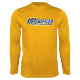 Performance Gold Longsleeve Shirt-CSU Bakersfield Roadrunners