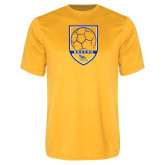Performance Gold Tee-Soccer Shield