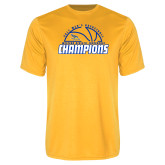Syntrel Performance Gold Tee-2017 Western Athletic Conference Champions - Mens Basketball Half Ball