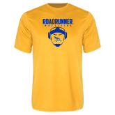 Syntrel Performance Gold Tee-Roadrunner Wrestling w/ Headgear