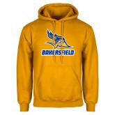 Gold Fleece Hoodie-Roadrunner Head Bakersfield