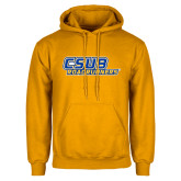 Gold Fleece Hoodie-CSUB Roadrunners