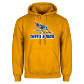 Gold Fleece Hoodie-Cheer Squad