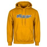 Gold Fleece Hoodie-Wrestling