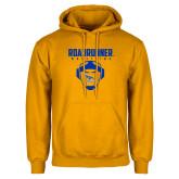 Gold Fleece Hoodie-Roadrunner Wrestling w/ Headgear