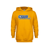 Youth Gold Fleece Hoodie-CSUB Roadrunners