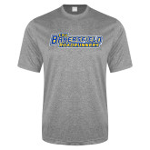 Performance Grey Heather Contender Tee-CSU Bakersfield Roadrunners