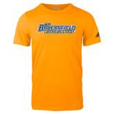Adidas Gold Logo T Shirt-CSU Bakersfield Roadrunners