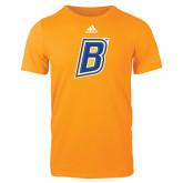 Adidas Gold Logo T Shirt-B