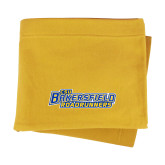 Gold Sweatshirt Blanket-CSU Bakersfield Roadrunners