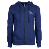 ENZA Ladies Royal Fleece Full Zip Hoodie-Primary Logo