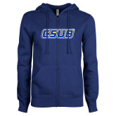 ENZA Ladies Royal Fleece Full Zip Hoodie-CSUB